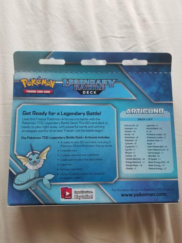 Pokemon Legendary Battle Deck Articuno