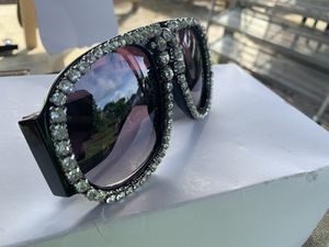 Fashion glasses Black diamond rhinestone sunglasses new for Sale in Ocoee, FL
