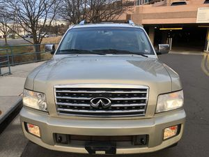 2008 Infiniti QX56, 4x4, Auto, Front and tear AC, AM,FM, CD Player, Leather Seats Power Seats, Front and Rear Heated Seats, Power Sunroof, Rear Back for Sale in McLean, VA