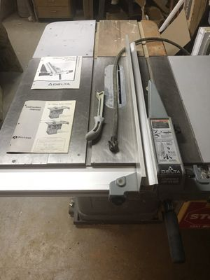 """Rockwell/Delta 10""""UNI-SAW. Md. # 34-802 for Sale in Brooklyn, NY"""