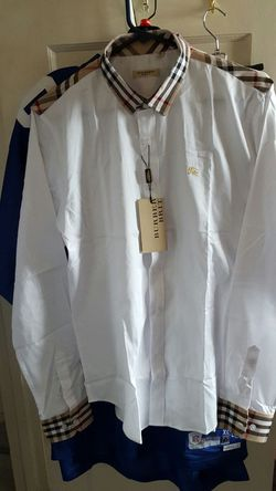 Mens XL Burberry Brit shirt for Sale in Williamsport,  PA