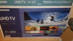 """Samsung 40"""" uhd with box, manual, and remote for Sale in Philadelphia, PA"""