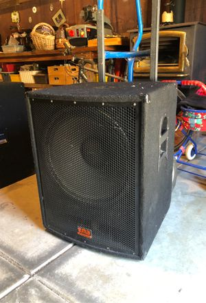 "EMB 18"" Passive Subwoofers for Sale in Sunnyvale, CA"
