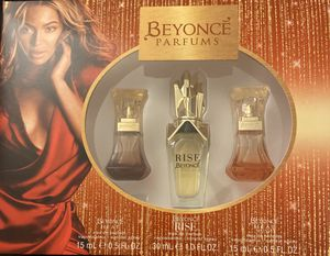 Beyoncé 3pc Parfums Set for Sale in Detroit, MI