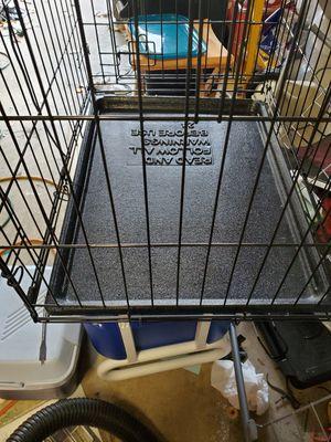 Dog crate folding for Sale in Virginia Beach, VA
