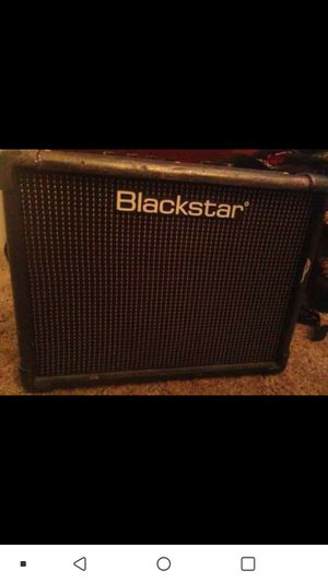 Black star amp for Sale in Hamilton, OH