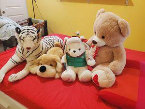 Branded Animal plush toys for Sale in Oakley, CA