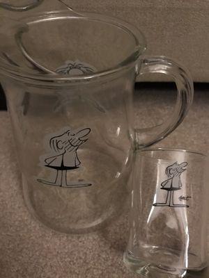 BC PITCHER & GLASSES for Sale in Livonia, MI