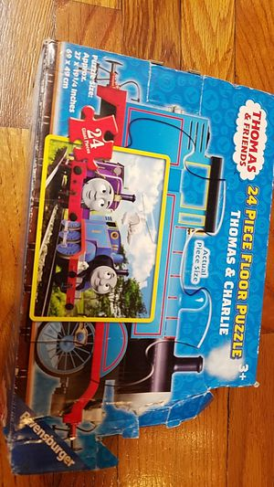 Thomas the train and Charlie puzzle for Sale in Odessa, FL