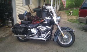 2009 harley heritage softtail.low miles........11200 for Sale in US