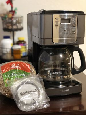 Mr Coffee 12 cup coffee maker for Sale in San Jose, CA