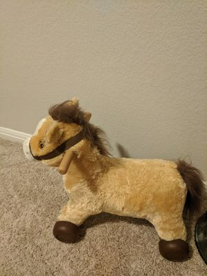 Rockin' Rider Rolling Pony Ride-on for Sale in Pflugerville, TX