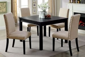 Antique black dining table set for Sale in Mesa, AZ