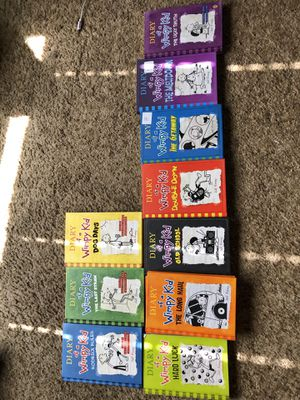 Diary of a wimpy kid books collection l for Sale in San Jose, CA