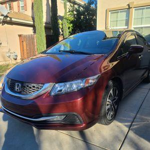 2015 Honda Civic Salvage for Sale in Lathrop, CA