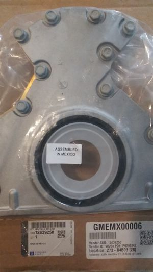 GMC Parts Denali 6.0 engine rear main seal and flange for Sale in Tracy, CA