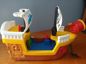 Fisher price pirate ship and boat for Sale in Bolingbrook, IL