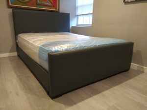 $375 queen bed mattress brand new free delivery same day for Sale in Miramar, FL