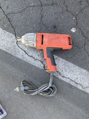 """🛠 MILWAUKEE 1/2"""" SQUARE DRIVE IMPACT WRENCH CORDED 🛠 for Sale in Carson, CA"""