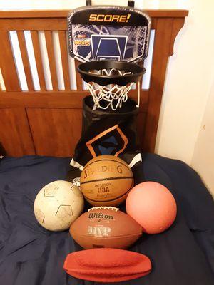Basketball, Football & Hamper Hoops Lot for Sale in Lakewood, CA