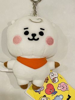 BTS BT21 Line Friends Official Baby RJ Plush Plushie Keychain Keyring NWT for Sale in Silver Spring,  MD