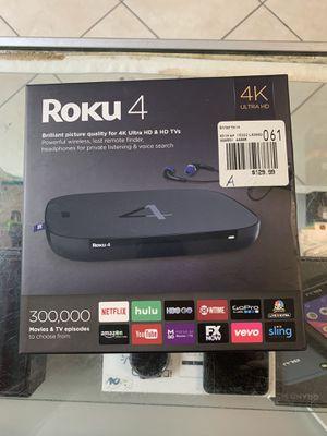 Roku 4 new for Sale in Philadelphia, PA