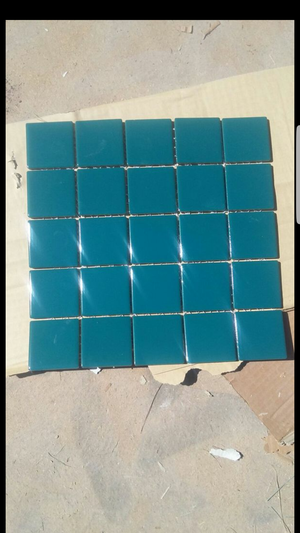 Mosaic ceramic tile. Only 60 cents a sheet. Each sheet is 12 inches by 12 inches. One foot by one foot. for Sale in Tempe, AZ