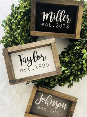 Personalized Name sign ! for Sale in Bensenville, IL