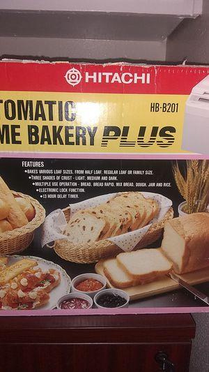 Automatic home bakery plus bread maker hb-b201 bread machine for Sale in Garden Grove, CA