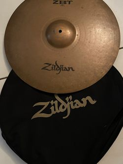 Zilbjian Cymbals and Carry Bag Used for Sale in Miami,  FL