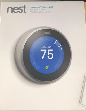 New Nest thermostat for Sale in Miami, FL