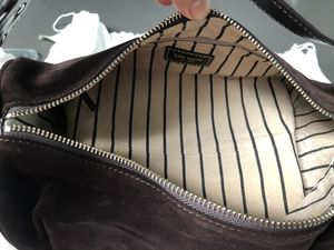 Kate Spade Brown Suede Roll Purse for Sale in Paradise Valley, AZ