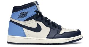 Jordan 1 RETRO High obsidian UNC size 8.5 for Sale in Winston-Salem, NC
