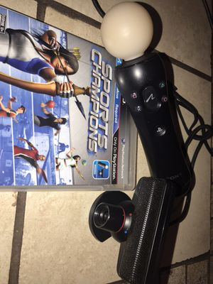 PS3 Motion equipment and game for Sale in Haines City, FL