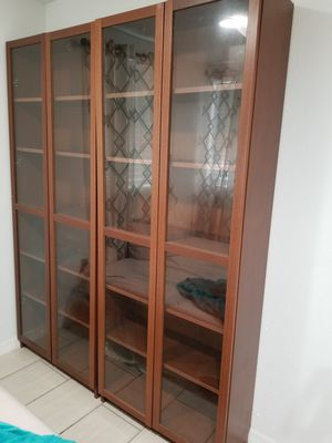 2 Ikea Billy Bookcases for Sale in Tampa, FL
