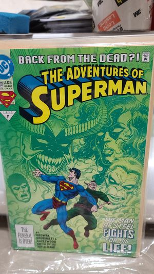 DC COMIC, Superman back from the dead for Sale in Albuquerque, NM