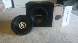 """Brand new MEMPHIS 12' sub, and another 12"""" Memphis sub slightly used for Sale in San Lorenzo, CA"""