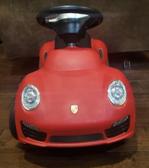 PORSCHE 911 TURBO S PUSH CAR TODDLERS TOY for Sale in Frisco, TX