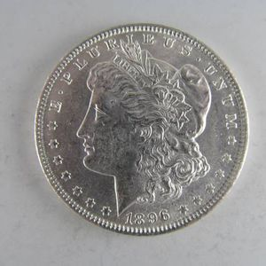 1896 Morgan Silver Dollar -- AWESOME NEAR-UNCIRCULATED COIN! for Sale in Bolingbrook, IL