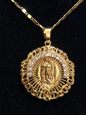 Virgin Mary Pendant Charm Necklace Chain for Sale in Seattle, WA