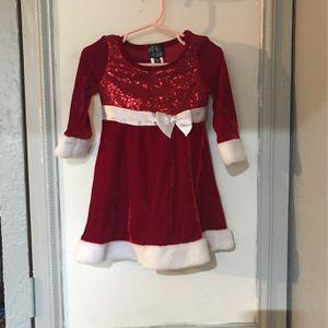 2T Girls Christmas Dress BRAND NEW NEVER WORN. for Sale in St. Petersburg, FL