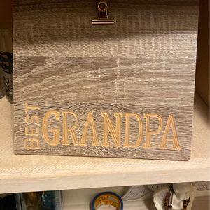 Best Grandpa Picture Frame for Sale in Fresno, CA