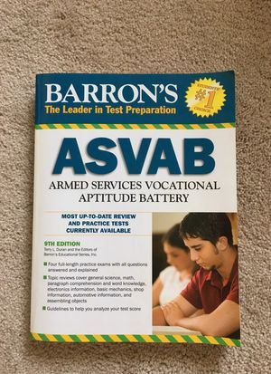 ASVAB book for Sale in Rockville, MD