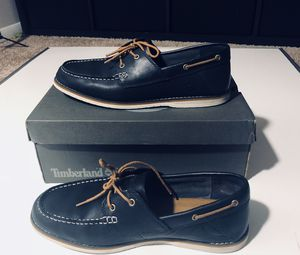 Just $25!!! Timberland Men's Bluffton 2-eye NAVY, men size 10.5 (fits size 11-11.5), with box, like new, only worn 2-3 times. I DO NOT DELIVER for Sale in Atlanta, GA