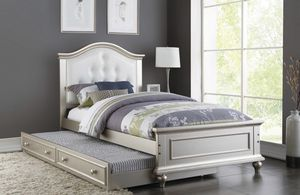 TWIN BED TRUNDLE F9378 for Sale in Orlando, FL