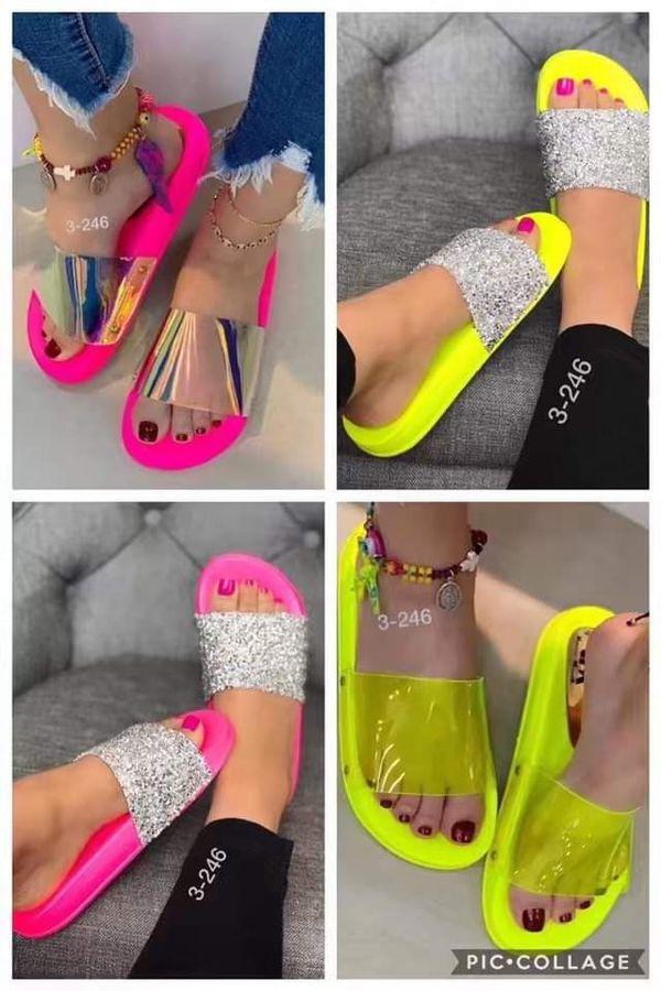 Fancy Neon Slides 💛❤💚 ***READ POST***