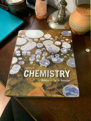 Seventh edition Chemistry McMurty textbook for Sale in Pembroke Pines, FL