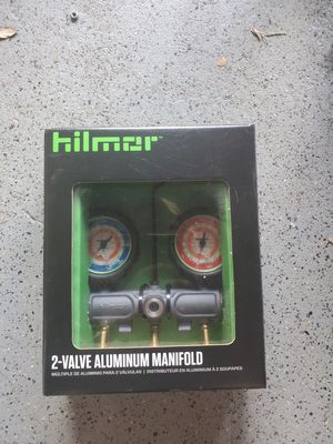 Hilmor HVAC 2 valve manifold. New in box. for Sale in Fort Lauderdale, FL