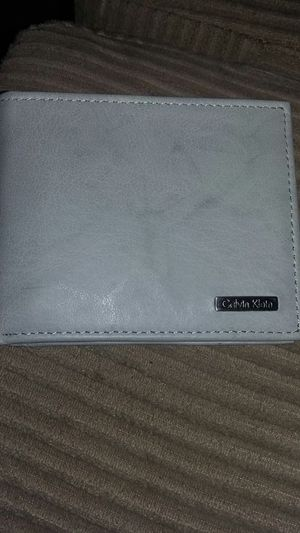 Brand new calvin klein leather wallet for Sale in Las Vegas, NV