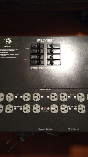 MLC-16X master lighting controller $500 obo for Sale in Berkeley, CA